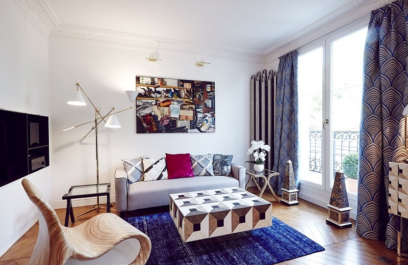 See the Contemporary Interiors of L'Appartement by Rue Monsieur Paris 3