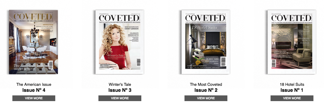 ➤ To see more news about the Interior Design, Fashion, Travel and more, visit us at www.covetedition.com #CovetedMagazine #CovetHouse #LuxuryBrands