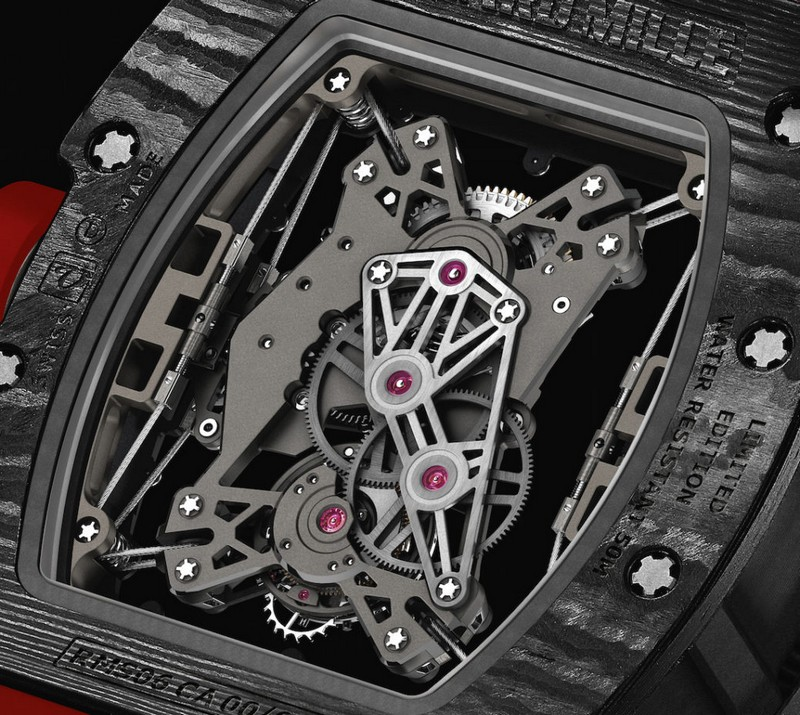 Richard Mille-RM011 Lotus BACK CMYK