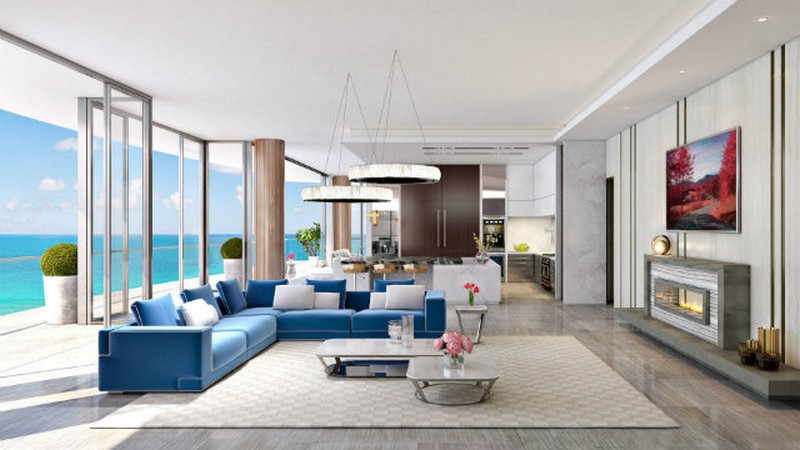 Luxe Miami Condo's Interior Design by Karl Lagerfeld-3