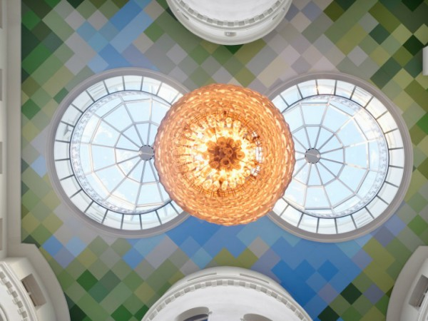 The Nobis Hotel Ceiling