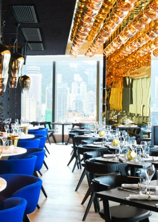 Tom Dixon's Luxurious Alto Restaurant in Hong Kong