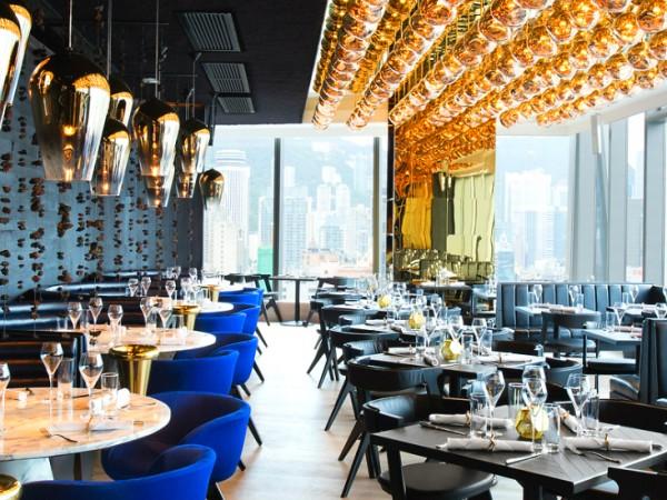 Tom Dixon's Luxurious Alto Restaurant in Hong Kong