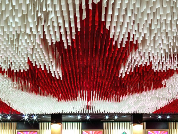 Yabu Pushelberg's Design for Canada Olympic House in Rio