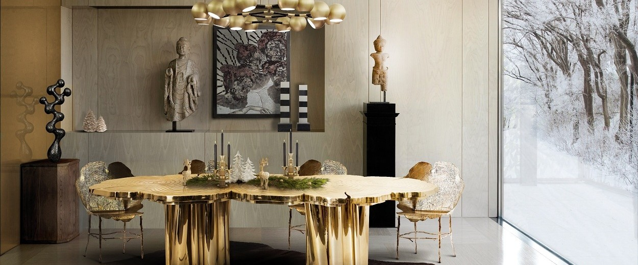 The best 14 luxury decorating ideas for the Holiday Season ➤To see more Coveted articles visit us at https://covetedition.com/ #covetedmagazine #luxuryinteriordesign #luxurylifestyle @CovetedMagazine