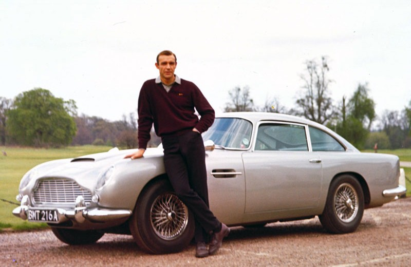 aston-martin-db5-james-bond-goldfinger_68 james bond The Greatest Cars to Have Appeared in the James Bond Series Aston Martin DB5 James Bond Goldfinger 68