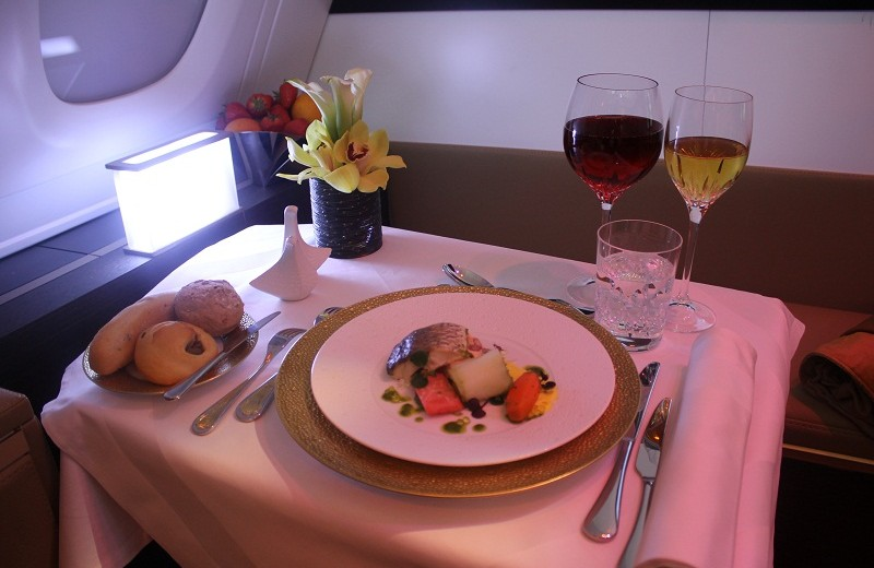 Coveted: Meet the most luxurious suite in the sky: The Residence by Etihad the residence by etihad Meet the most luxurious suite in the sky: The Residence by Etihad Etihad The Residence food