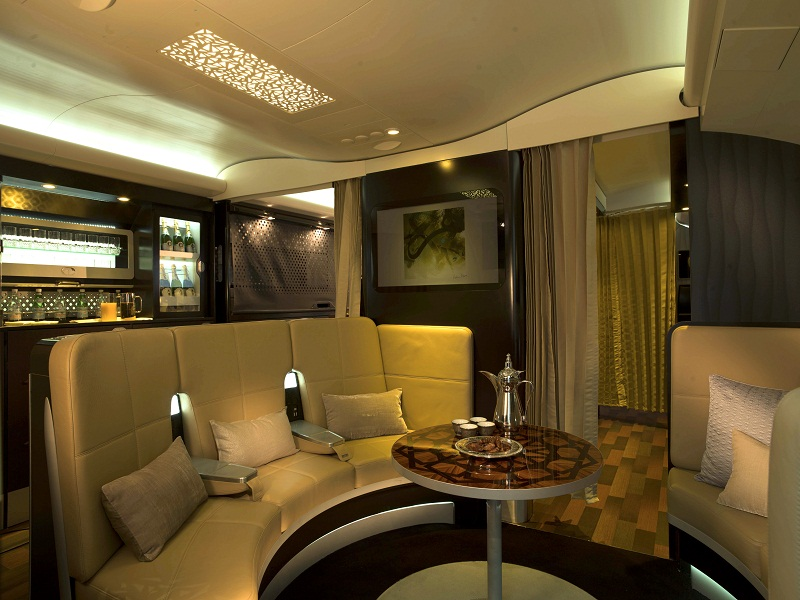 Meet the most luxurious suite in the sky: The Residence by Etihad the residence by etihad Meet the most luxurious suite in the sky: The Residence by Etihad THE LOBBY view1