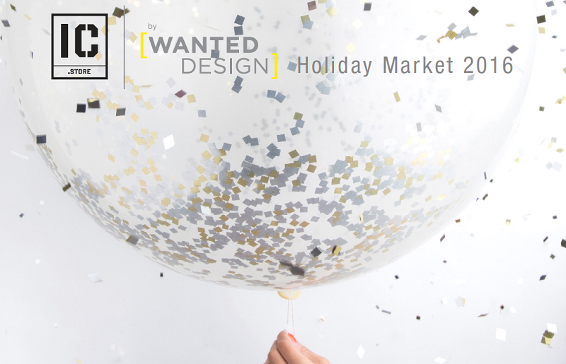 wanteddesign wanteddesign WantedDesign – Holiday Market 2016 Wanted Design Image