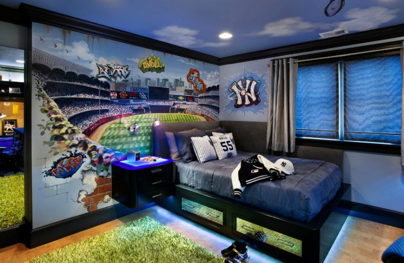 brightblue bedroom ideas Take a Look at these Five Fabulous Blue Bedroom Ideas for Boys brightblue