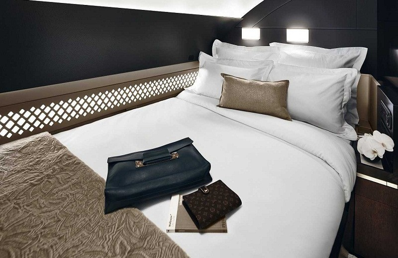 Coveted: Meet the most luxurious suite in the sky: The Residence by Etihad the residence by etihad Meet the most luxurious suite in the sky: The Residence by Etihad the residence airline reveals mindblowingly luxurious flying apartment with bathroom bedroom chef and butler