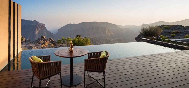 5 Breathtaking Destinations for Warm-Weather Vacations ➤To see more Coveted articles visit us at http://covetedition.com/ #covetedmagazine #luxuryinteriordesign #luxurylifestyle @CovetedMagazine breathtaking destinations 5 Breathtaking Destinations for Warm-Weather Vacations AnantaraJabalAkhdar0001
