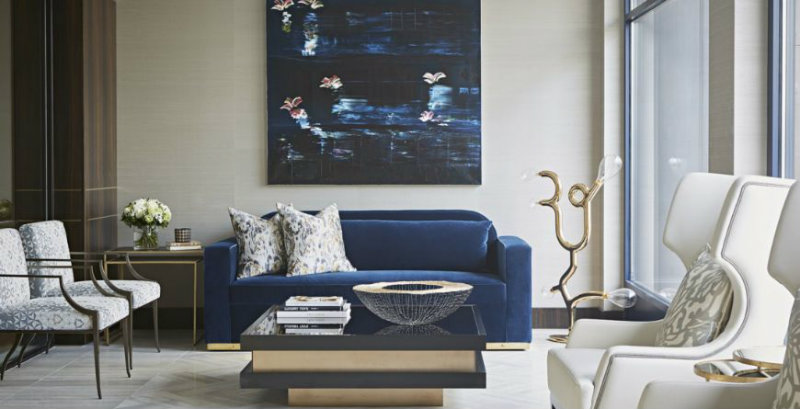 The Most Glamorous Living Room Ideas By Taylor Howes Covet Edition