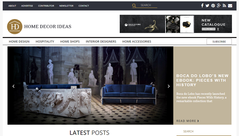 Top Best Interior Design Blogs Of Covet Edition