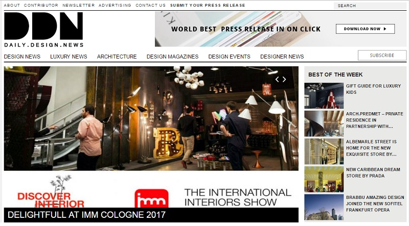 Top 100 Best Interior Design Blogs of 2016 by coveted magazine  100 Best Interior Design Blogs Ever to Add to Your Favorites 2