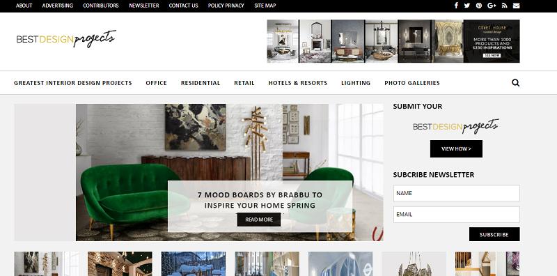 Top 10 Best Interior Design Blogs You