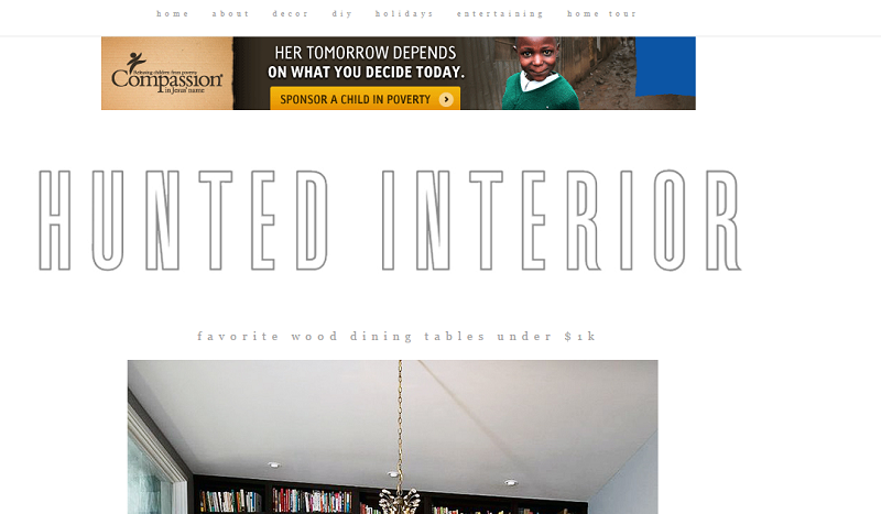 Top 100 Best Interior Design Blogs Of 2016 By Coveted MagazineTop