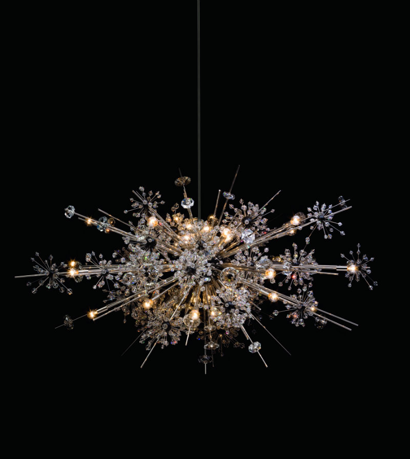 met-chandelier-6725_36_or maison et objet 2017 Maison et Objet 2017 – Awe-Inspiring Crystal Designs by Lobmeyr MET chandelier 6725 36 OR