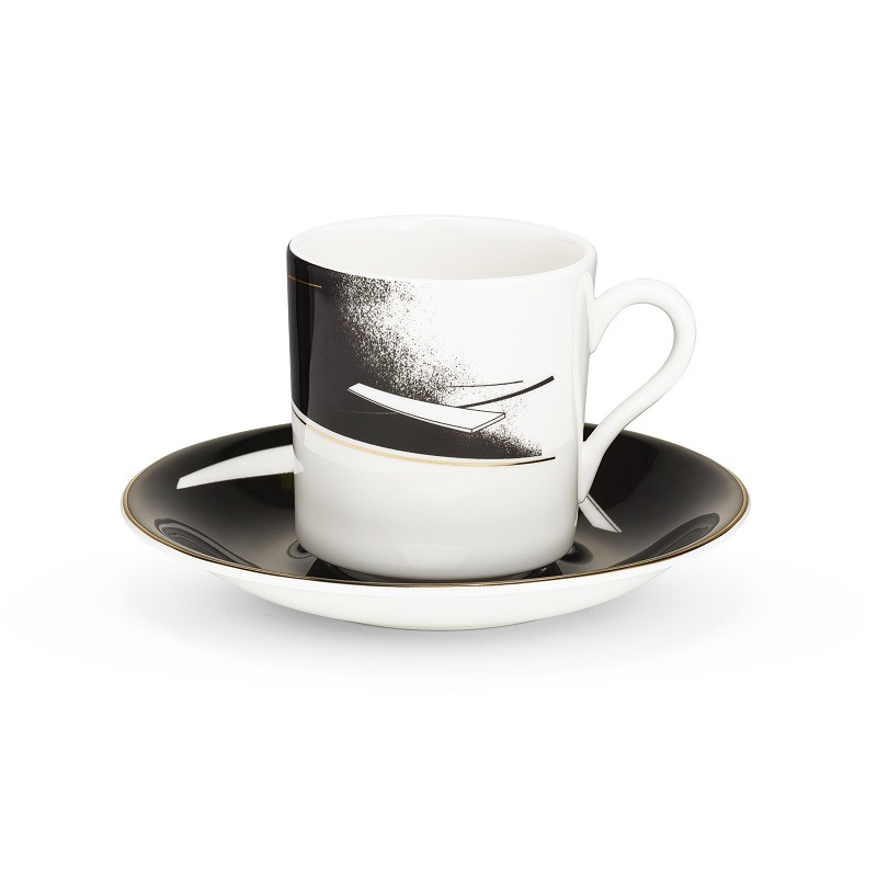 Meet Zaha Hadid New Collection from Maison et Objet 2017 zaha hadid Meet Zaha Hadid New Collection from Maison et Objet 2017 ZHD Beam CoffeeCupSaucer