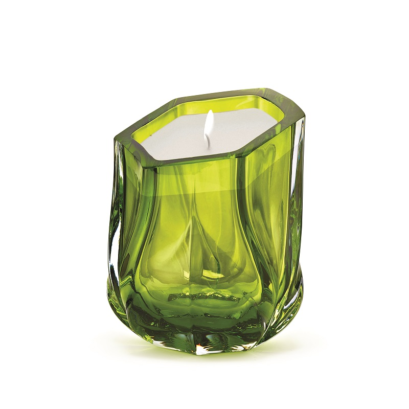 Meet Zaha Hadid New Collection from Maison et Objet 2017 zaha hadid Meet Zaha Hadid New Collection from Maison et Objet 2017 ZHD Shimmer Candle SingleWick Lime