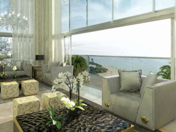 AKYON Nine Elms: Interiors by Versace