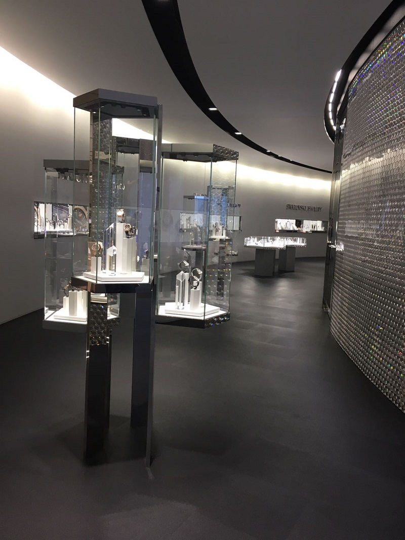 Hypnotising Swarovski Collection By Karl Lagerfeld At Baselworld 2017 ➤To see more Luxury Bathroom ideas visit us at www.luxurybathrooms.eu #isaloni #salonedelmobile #milandesignweek #baselworld #interiordesign @covetedmagazine