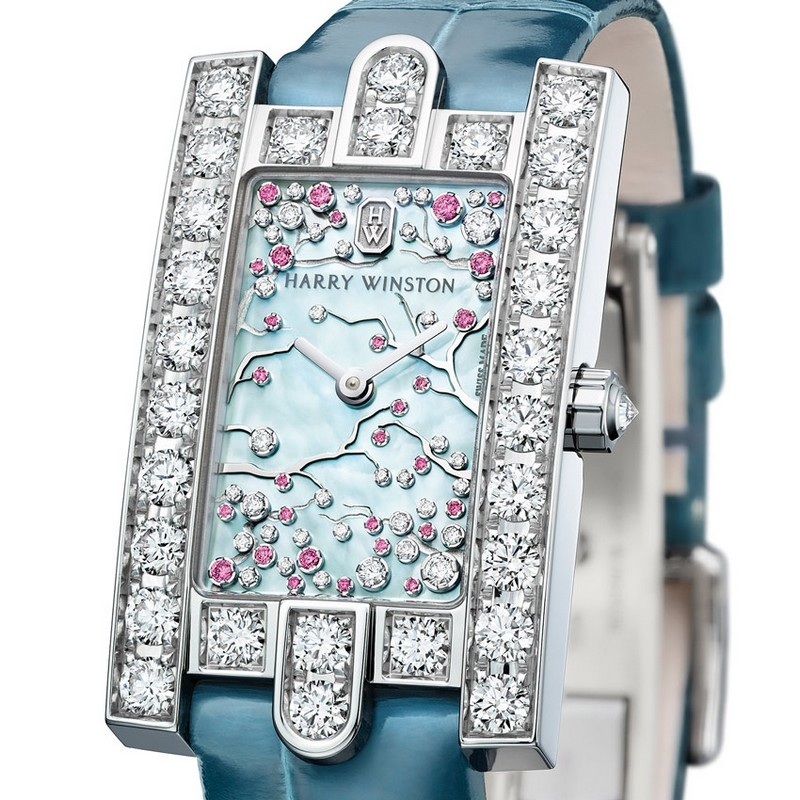 Avenue Classic Cherry Blossom - harry winston basel Baselworld 2017 – Top Exhibitors Of The Finest Watches And Jewelry Avenue Classic Cherry Blossom harry winston