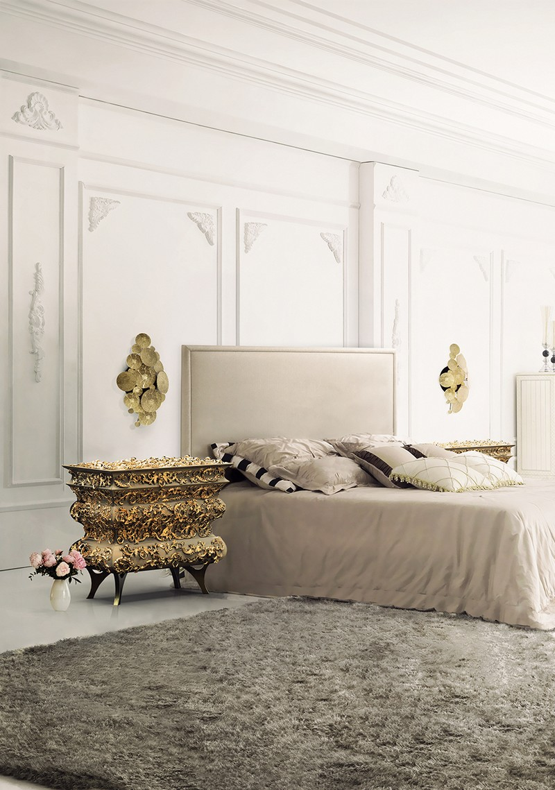 Bedroom-Boca-do-Lobo-01 luxury brands Turn Your Home Into a Trendy Sanctuary with these Eight Luxury Brands Bedroom Boca do Lobo 01