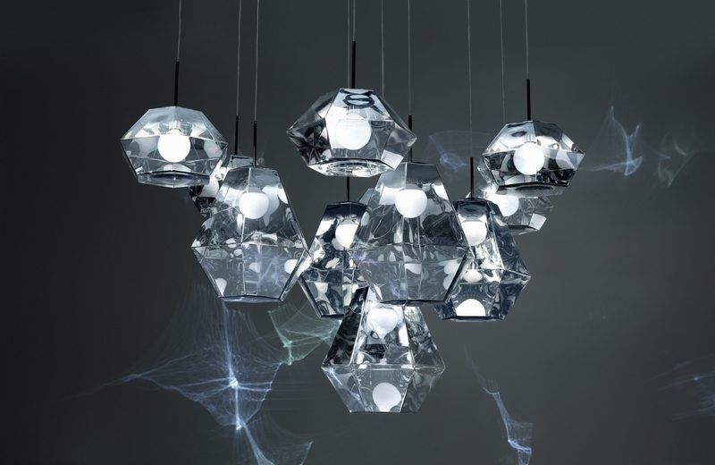 Tom Dixon New Collections Revealed At Milan Design Week milan design week Tom Dixon New Collections Revealed At Milan Design Week Cut Long Small Chrome Cluster On