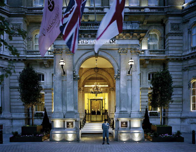 Langham Hotel - Entrance langham hotel Langham Hotel London 151 years of history and design Hi TLLON 37272415 Entrance