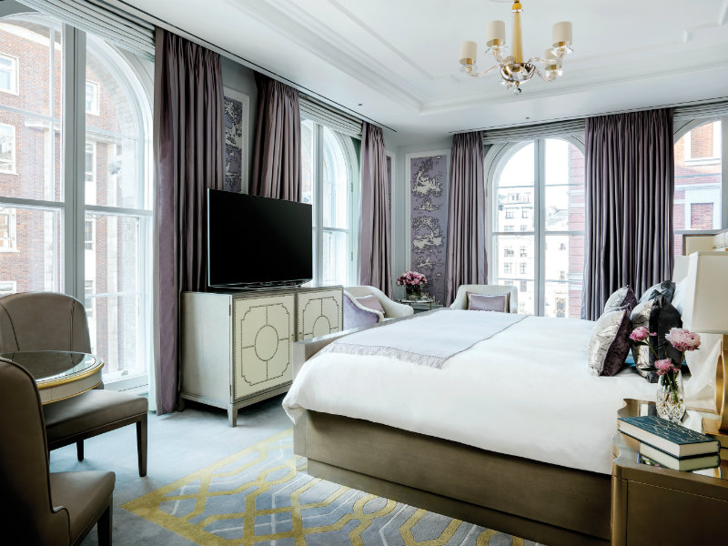 Langham Hotel - Sterling Suite langham hotel Langham Hotel London 151 years of history and design Hi TLLON 70965445 The Sterling Suite Guest Bedroom