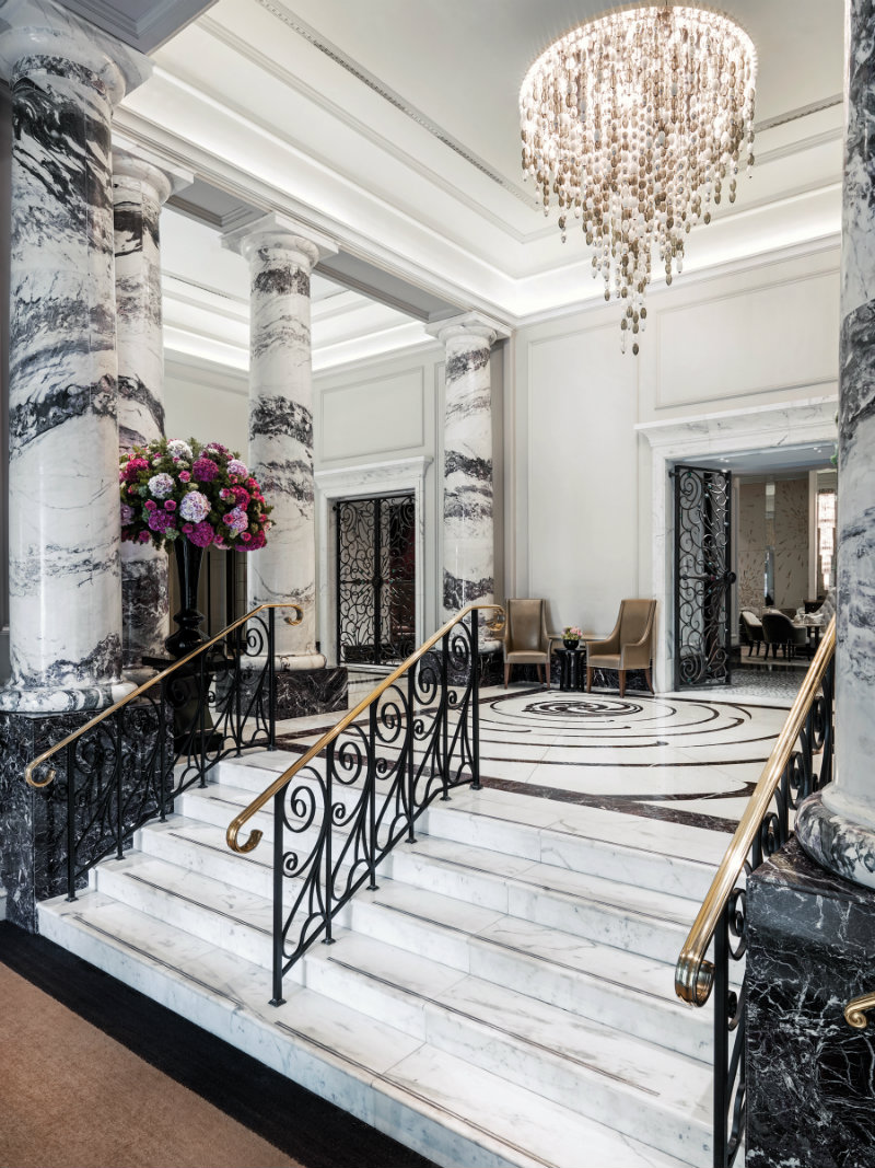 Langham Hotel Lobby Stairs langham hotel Langham Hotel London 151 years of history and design Hi TLLON 70965508 Lobby