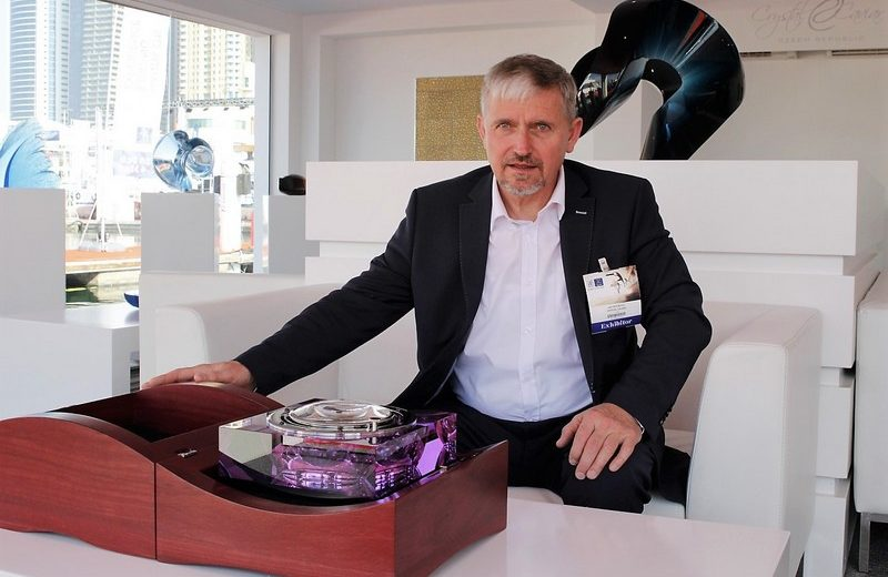 MR. JAN FRYDRYCH WITH HIS YACHT CHRONOMETER dibs 2017