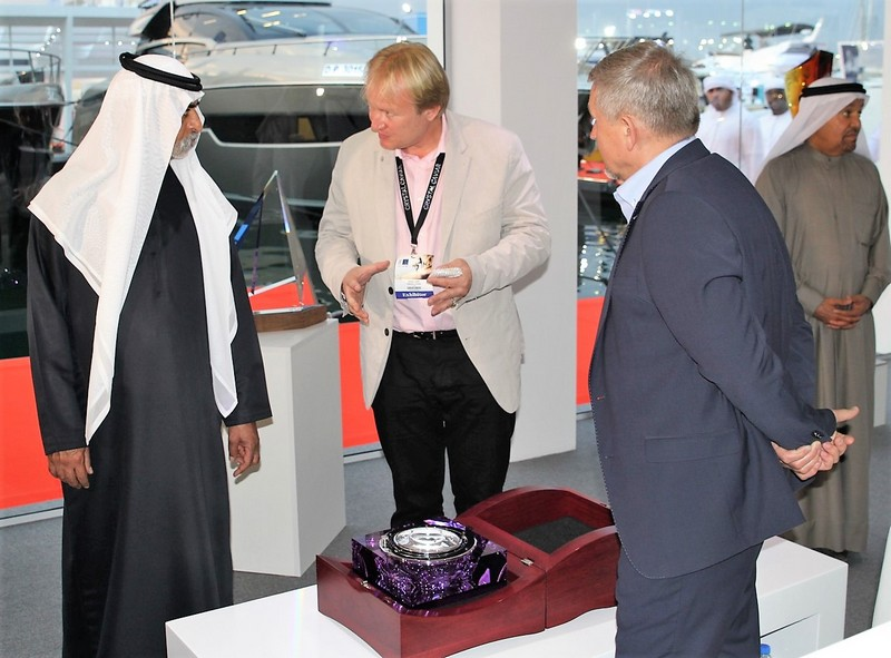 MR. MAREK LANDA AND MR. JAN FRYDRYCH WITH HH SHEIKH NAHYAN BIN MUBARAK AL NAHYAN dibs 2017