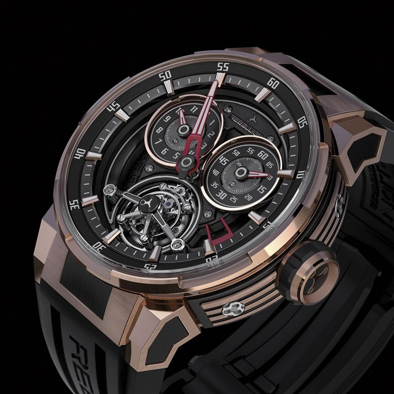 re bellion - Predator 2.0 Regulator Tourbillon baselworld 2017 basel Baselworld 2017 – Top Exhibitors Of The Finest Watches And Jewelry re bellion Predator 2