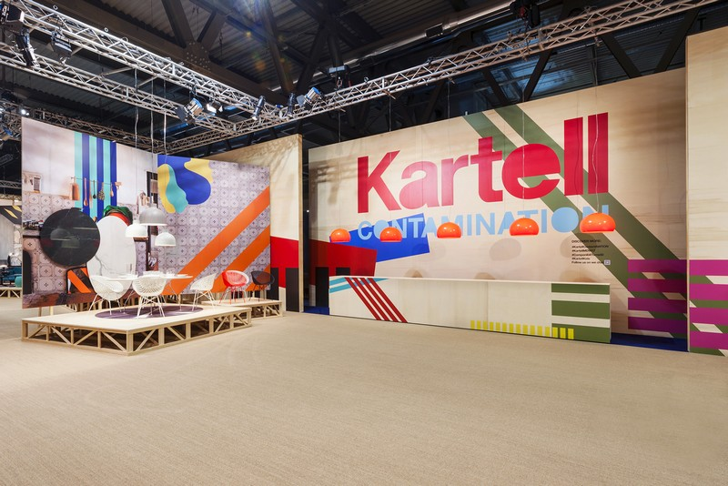 Kartell Al Salone Del Mobile : Isaloni kartell s tribute to componibili th