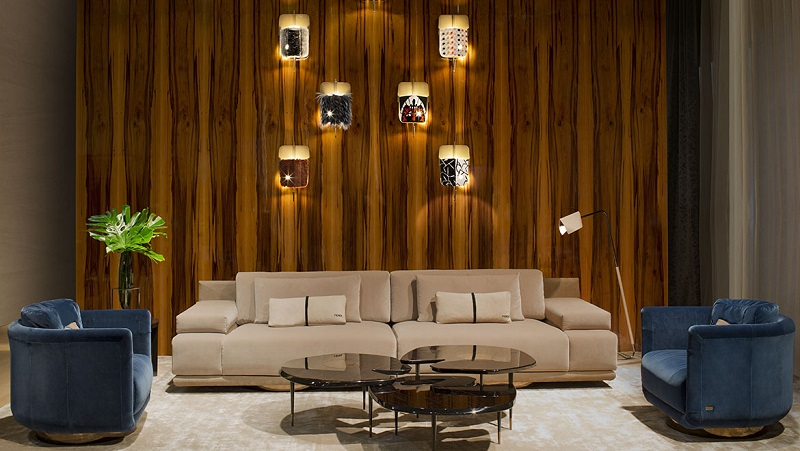 Salone del Mobile 2017: Fendi Casa presents Six Shades Of Palmer Sofa
