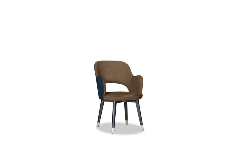 Colette Chair by Baxter Exploring the New Awe-Inspiring Collection Designed by BAXTER Colette SediaConBraccioli KashmirCognacTuscanyFollonica p