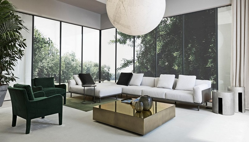 Be Inspired By The Newest Collection By Meridiani ➤To see more Luxury Bathroom ideas visit us at www.luxurybathrooms.eu #homedecor #interiordesign #moderninteriordesign #luxuryhomes @covetedmagazine newest collection Be Inspired By The Newest Collection By The Italian Brand Meridiani Meridiani timothy modular sofa 04