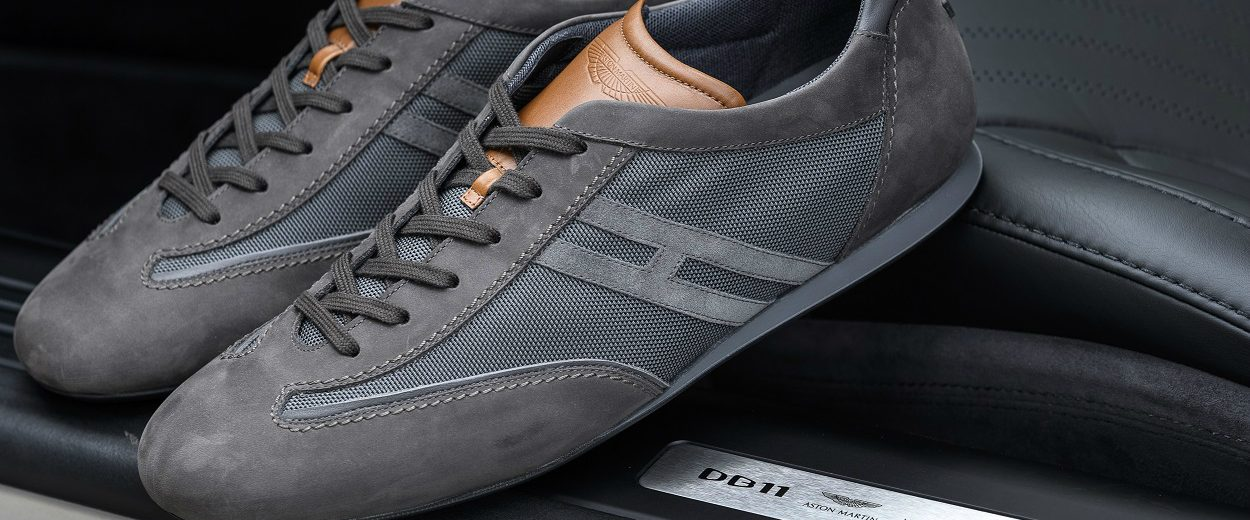 Meet The Ultimate Luxury Sneaker Created By Aston Martin And Hogan Covet Edition