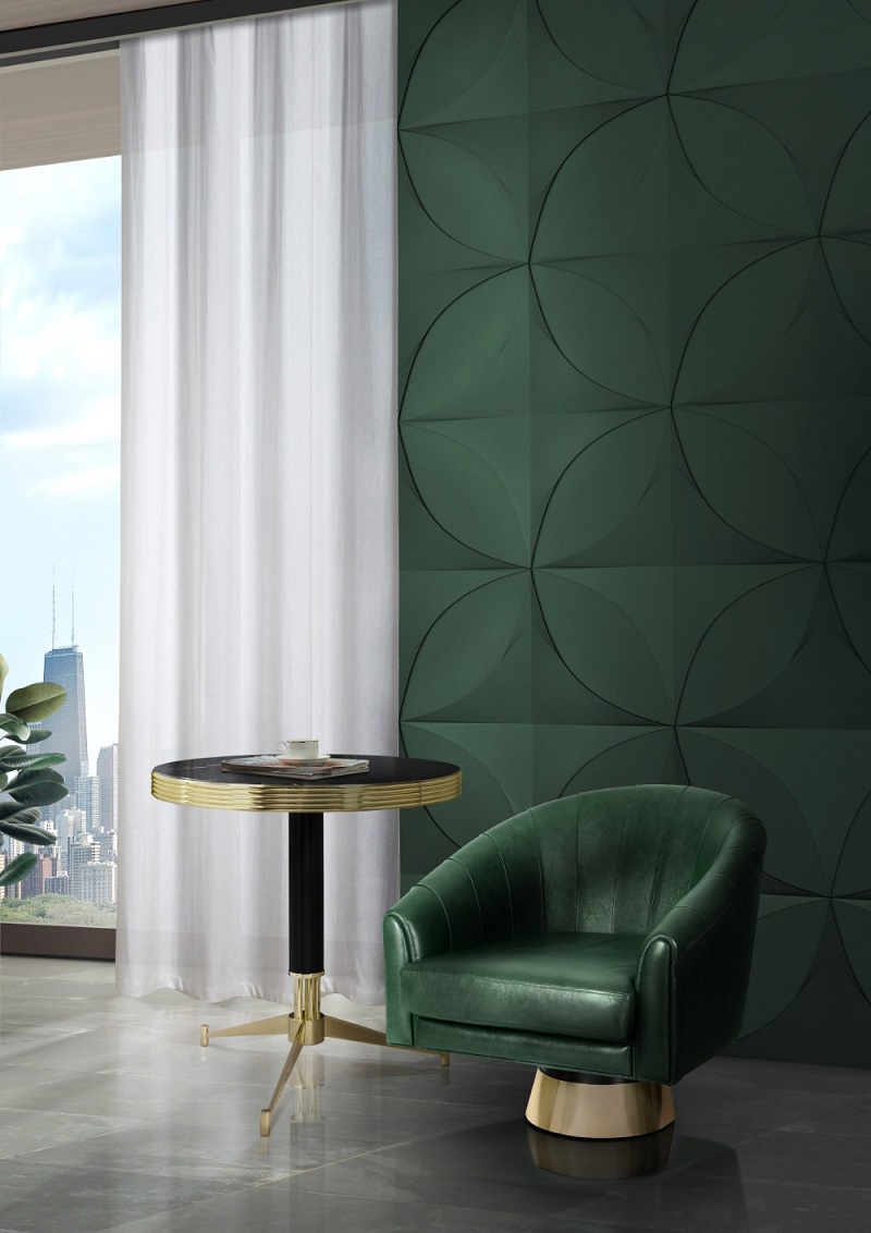 2018 Color Trends - Mid Century Home Decor Ideas With Green ➤ To see more news about Luxury Design visit us at http://covetedition.com/ #interiordesign #homedecor #luxurybrand @BathroomsLuxury @bocadolobo @delightfulll @brabbu @essentialhomeeu @circudesign @mvalentinabath @luxxu @covethouse_ 2018 color trends 2018 Color Trends - Mid Century Home Decor Ideas With Green 2018 Color Trends Rocking a Green Decor in Your Mid Century Home 2