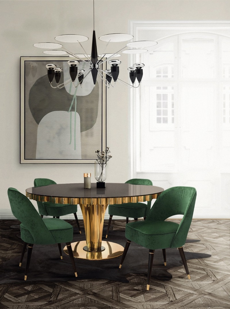 2018 Color Trends - Mid Century Home Decor Ideas With Green ➤ To see more news about Luxury Design visit us at http://covetedition.com/ #interiordesign #homedecor #luxurybrand @BathroomsLuxury @bocadolobo @delightfulll @brabbu @essentialhomeeu @circudesign @mvalentinabath @luxxu @covethouse_