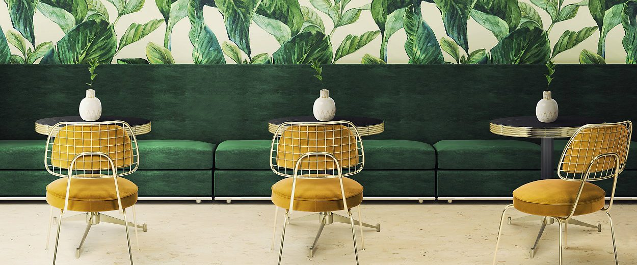 2018 Color Trends - Mid Century Home Decor Ideas With Green ➤ To see more news about Luxury Design visit us at https://covetedition.com/ #interiordesign #homedecor #luxurybrand @BathroomsLuxury @bocadolobo @delightfulll @brabbu @essentialhomeeu @circudesign @mvalentinabath @luxxu @covethouse_
