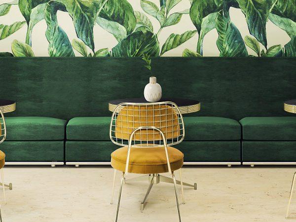 2018 Color Trends - Mid Century Home Decor Ideas With Green ➤ To see more news about Luxury Design visit us at http://covetedition.com/ #interiordesign #homedecor #luxurybrand @BathroomsLuxury @bocadolobo @delightfulll @brabbu @essentialhomeeu @circudesign @mvalentinabath @luxxu @covethouse_