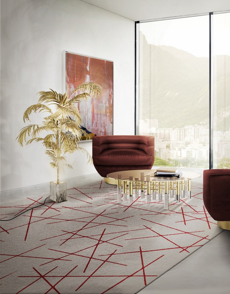 2018 Trends - 12 Contemporary Rugs to Use In Your Home Interiors 9 contemporary rugs 2018 Design Trends - 12 Contemporary Rugs to Use In Home Interiors 2018 Trends 12 Contemporary Rugs to Use In Your Home Interiors 9