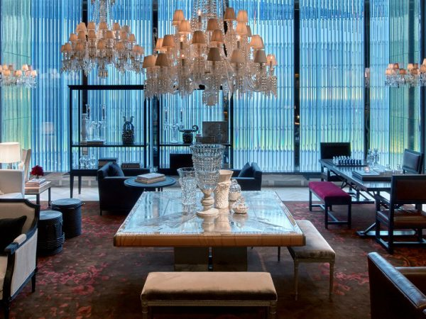 Meet The Coveted and Luxurious Baccarat Hotel & Residences New York ➤ To see more news about Luxury Design visit us at http://covetedition.com/ #interiordesign #homedecor #luxurybrand @BathroomsLuxury @bocadolobo @delightfulll @brabbu @essentialhomeeu @circudesign @mvalentinabath @luxxu @covethouse_