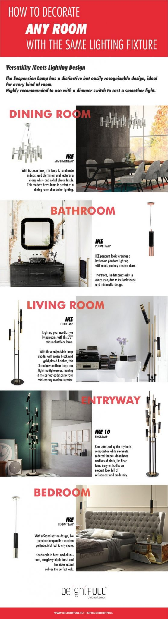 Interior Design Tips - Meet DelightFULL's Stunning Ike Lamp Designs 8