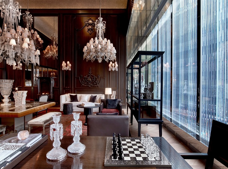 Meet The Coveted and Luxurious Baccarat Hotel & Residences New York ➤ To see more news about Luxury Design visit us at http://covetedition.com/ #interiordesign #homedecor #luxurybrand @BathroomsLuxury @bocadolobo @delightfulll @brabbu @essentialhomeeu @circudesign @mvalentinabath @luxxu @covethouse_ Baccarat Hotel Meet The Coveted and Luxurious Baccarat Hotel & Residences New York Meet The Coveted and Luxurious Baccarat Hotel Residences New York 3