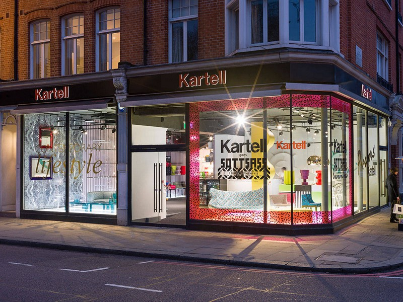 Kartell's Tribute to the Iconic Componibili at London Design Festival 10