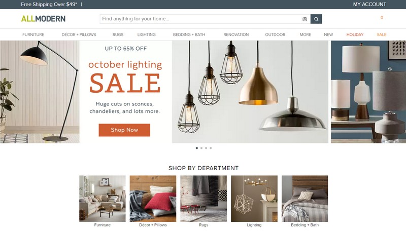 AllModern   Connect to the Best Online Furniture Stores  To see more news  about furniture brands. Connect to the Best Online Furniture Stores   Covet Edition